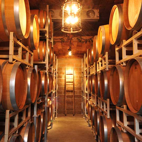 Barrel Room - Chaberton Estate Winery