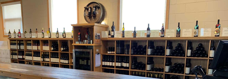 Tasting Room at Chaberton Estate Winery