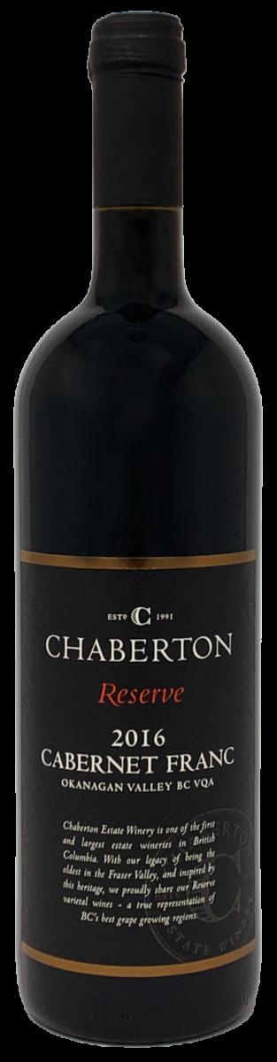 2016 Cabernet Franc bottle shot