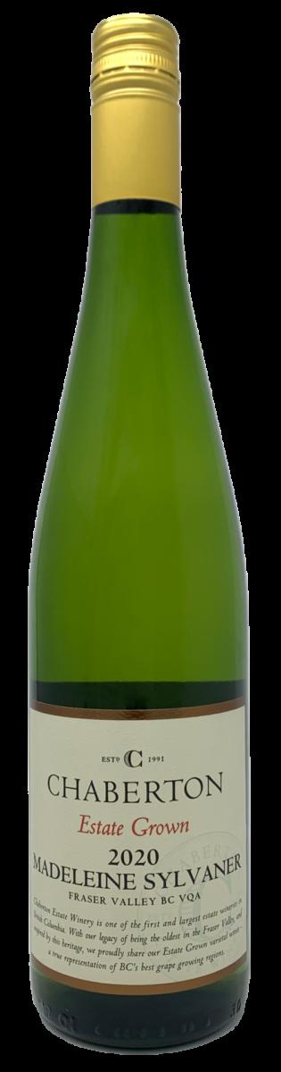 2020 Madeleine Sylvaner Bottle Shot